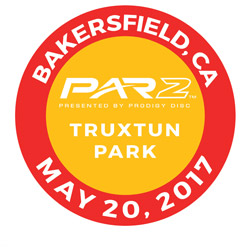 Disc Golf PAR2 Event. Truxtun Park, Bakersfield, California, May 20, 2017