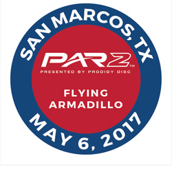 Disc Golf PAR2 Event. Flying Armadillo, San Marcos, TX, May 6. 2017