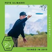 Pete Ulibarri, Member of the Prodigy's Tournament Team, Disc Golf Champions