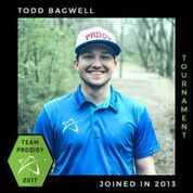 Todd Bagwell, Member of the Prodigy's Tournament Team, Disc Golf Champions