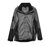 Elements Jacket, Black and Grey, Front