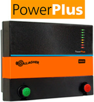 Gallagher PowerPlus M600 110V Plug in 150 Acres/ 25 Miles Charger