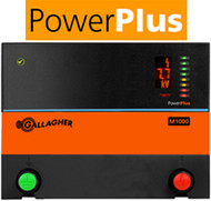 Gallagher PowerPlus M1000 110V Plug in 250 Acres/ 34 Miles Professional Charger