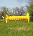 Insulated Yellow Gate Handle