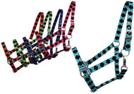 Halter - 2 Ply nylon halter with cross pattern