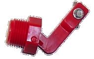 """Red Medium Valve 1/2"""" pkg #12575 - Ritchie"""
