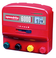 Speedrite 6000i Universal 110V and 12V Professional Plug In Charger 240 Acres  Solar Compatible Incl Remote