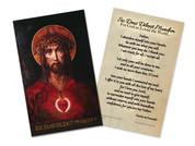 For God So Loved the World (Foucauld Prayer of Abandonment) Holy Card
