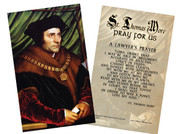 St. Thomas More Holy Card