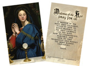 Madonna of the Host Holy Cards