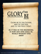 Glory Be Wall Graphic