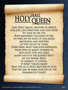Hail Holy Queen Wall Graphic