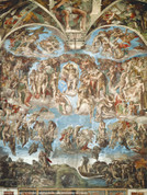 Last Judgement Wall Graphic