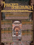 The Precepts of the Church Explained Teaching Tool