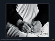 Mother Teresa (Hands) Wall Graphic