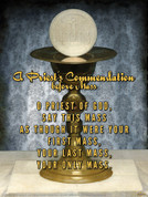 A Priest's Commendation Before Mass Wall Graphic