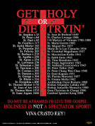 Get Holy or Die Tryin' Wall Graphic