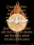 Come Holy Spirit Wall Graphic