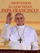 Bienvenido Papa Wall Graphic Francisco