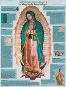 Our Lady of Guadalupe Spanish Explained Wall Graphic
