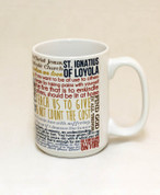 Saint Ignatius of Loyola Quote Mug