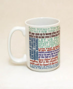 Saint Clare of Assisi Quote Mug