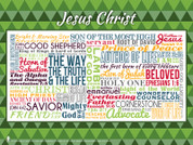 Jesus Christ Quote Poster
