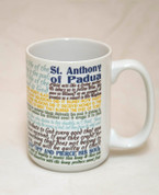Saint Anthony of Padua Quote Mug