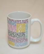 Saint Margaret Mary Alacoque Quote Mug