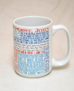 Saint John the Evangelist Quote Mug