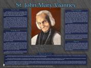 Saint John Mary Vianney Explained Poster