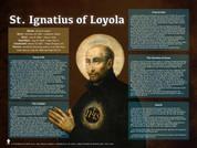 Saint Ignatius of Loyola Explained Poster (POS-F730)
