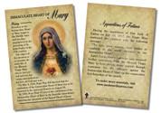Immaculate Heart of Mary Devotion Faith Explained Card