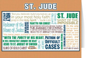 Saint Jude Quote Card