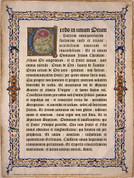 Latin Nicene Creed Poster
