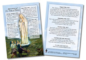 Our Lady of Fatima Faith Explained Card