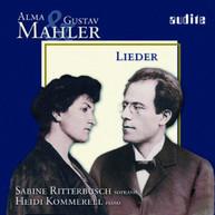 ALMA MAHLER & GUSTAV RITTERBUSCH KOMMERELL - LIEDER CD