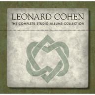LEONARD COHEN - COMPLETE STUDIO ALBUMS CD