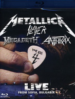METALLICA SLAYER MEGADETH ANTHRAX - BIG 4: LIVE FROM SOFIA BLU-RAY