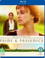 PRIDE & PREJUDICE (UK) BLU-RAY