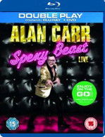 ALAN CARR - SPEXY BEAST LIVE (UK) BLU-RAY