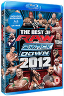 WWE - THE BEST OF RAW AND SMACKDOWN 2012 (UK) BLU-RAY