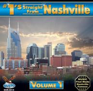 #1'S STRAIGHT FROM NASHVILLE 1 VARIOUS CD