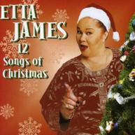 ETTA JAMES - 12 SONGS OF CHRISTMAS CD