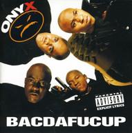 ONYX - BACDAFUCUP CD