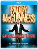 PADDY MCGUINNESS LIVE (UK) BLU-RAY