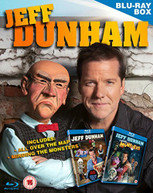 JEFF DUNHAM BOX SET - MINDING THE MONSTERS - ALL OVER THE MAP (UK) BLU-RAY