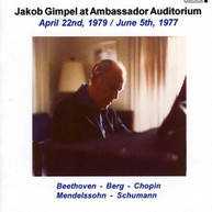 BEETHOVEN JACOB GIMPEL - AMBASSADOR CD