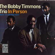 BOBBY TIMMONS - IN PERSON CD