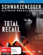 TOTAL RECALL (1990) (ULTIMATE REKALL EDITION) (1990) BLURAY